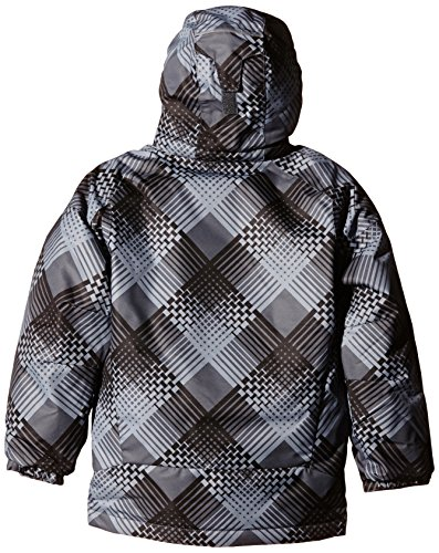 Pizzo Boy Waterproof Columbia bright Hyper Blue Blue Jacket hyper Plaid 'twist Black qBdWnE