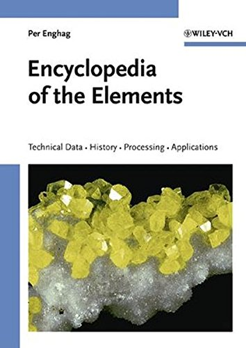 Encyclopedia of the Elements: Technical Data - History - Processing - Applications by Brand: Wiley-VCH