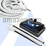 Central Vacuum 30ft 2 way hose Blackhawk electric powerhead kit Nutone Beam Eureka