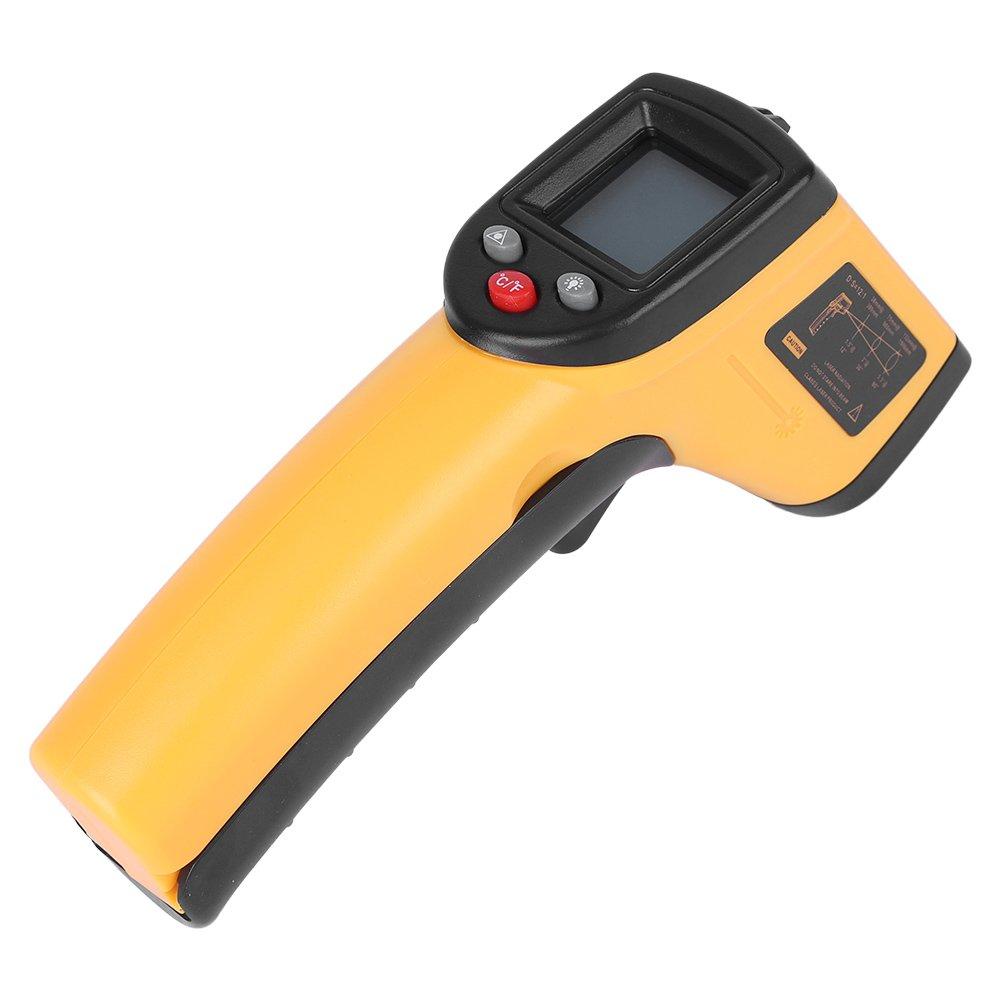 DEWIN Termómetro infrarrojo - Termómetro Digital sin Contacto de la Exhibición del LCD GM320-50 ℃ a 380 ℃