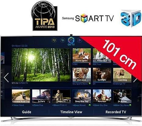Televisor LED 3D Smart TV UE40F8000: Amazon.es: Electrónica