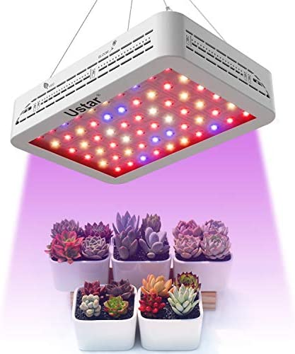 Grow Light, Grow Lights for Indoor Plants Full Spectrum 600W, Plant Grow Light for Greenhouse Hydroponics, Vegetables and Flowers, High Stability LED Plant Light