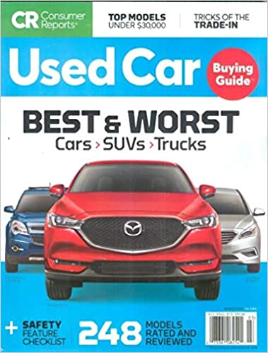 525e05d375 Consumer Reports Used Car Buying Guide Magazine March 2019  Consumer  Reports  Amazon.com  Books