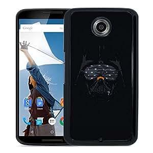 Unique Designed Cover Case For Google Nexus 6 With Ah Darth Vader Minimal Starwars Illust Art Phone Case