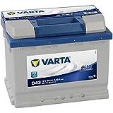 Varta Blue Dynamic D43 Batterie Voitures, 12 V 60Ah 540 Amps (En)