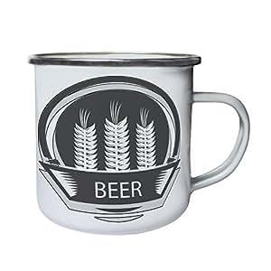 Best Beer Brewery Vintage Art Funny Retro,Tin, Enamel 10oz Mug d686e