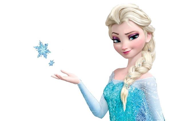 shoperama Frozen Elsa - Peluca para Mujer - Rubio: Amazon.es: Juguetes y juegos