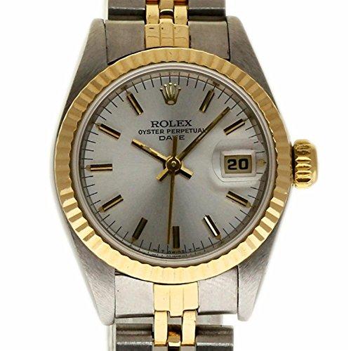 Rolex Date Swiss-Automatic Female Watch 69173 (Certified (Ladies Rolex Date Watch)