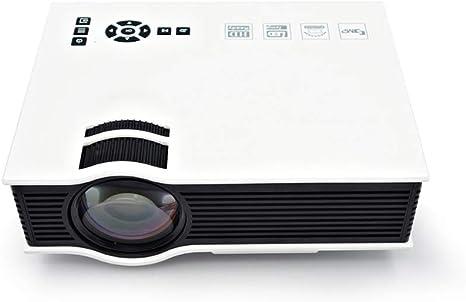 Mini proyector portátil 1080P, 30000 Horas LED Life Projector TV ...