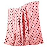Lovely Apple Baby Air Conditioning Blanket Infant Blanket Towel Coral Carpet