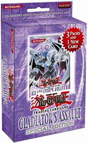 YuGiOh GX Gladiator's Assault SE Special Edition Pack [Random Promo]