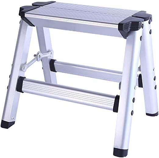 Plataforma de Trabajo Escalera de Aluminio, Escalera portátil de 3 ...