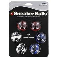 Sof Sole Sneaker Balls Zapato, bolsa de gimnasia y desodorante de casillero, 3 pares, matriz