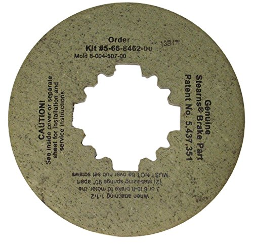 (Stearns Brake Friction Disc (8-004-507-00) Replacement # 5-66-8462-00)