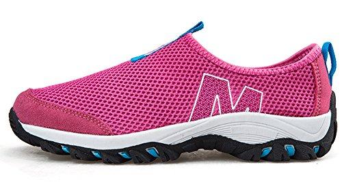 Rosso Uomo Traspirante Sneakers Ginnastica Gaatpot Da Maglia Scarpe Sportive Running Donna Immersione 4d6nqtP