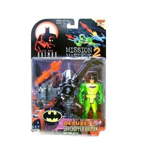 Batman: The New Batman Adventures Mission Masters 2 Deluxe Skychopper Batman Action Figure