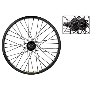 "Weinmann DM30 BMX Rear Wheel 20"" x 1.75, 9T Driver Hub, 36H, Black"