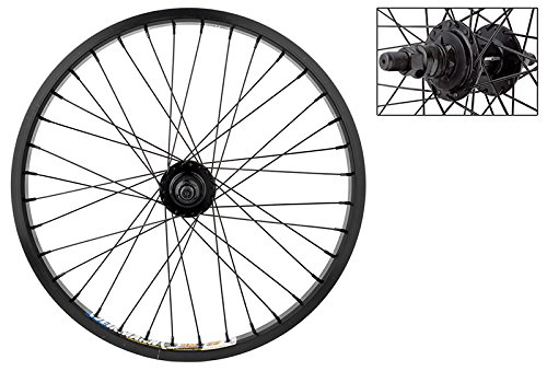 "Weinmann DM30 BMX Rear Wheel - 20"" x 1.75, 9T Driver Hub, 36H, Black"