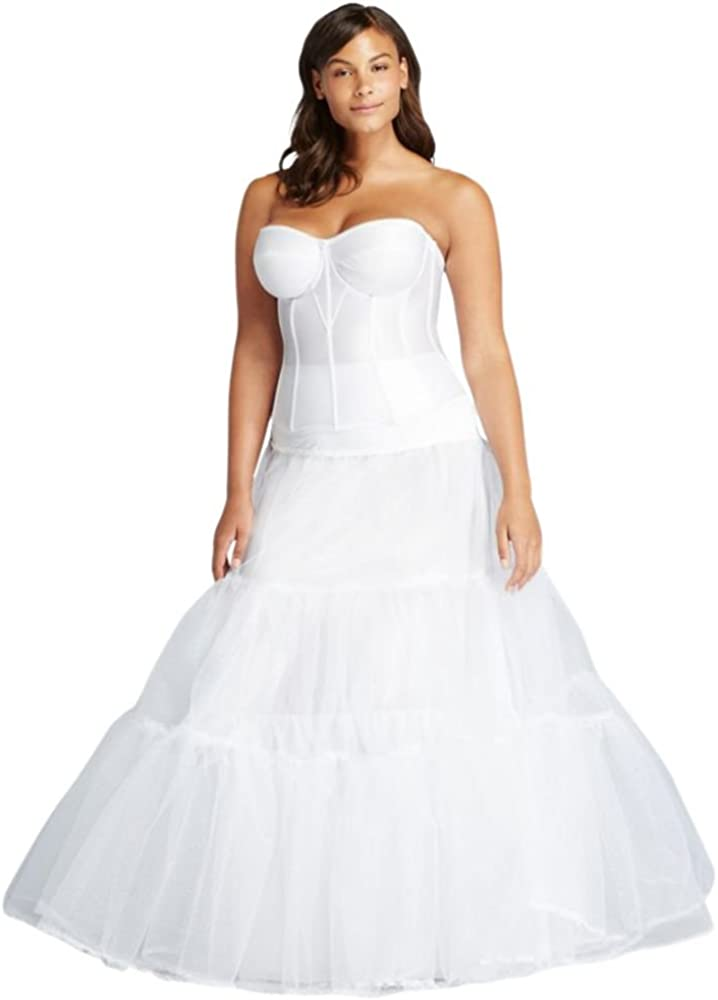 Plus Size Ball Gown Silhouette Slip Style 9BALLGOWNSLIP