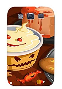 Forever Collectibles Halloween Desserts Hard Snap-on Galaxy S3 Case With Design Made As Christmas's Gift