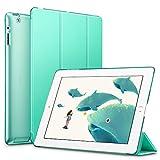 ESR iPad 4 Case iPad 3 Case iPad 2 Case, Smart Cover+Transparent Back