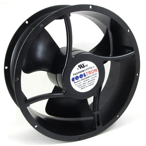 115V AC Cooling Fan. Ø254mm x 89mm HS