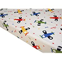 Premium Pack N Play Playard Sheet,100% ORGANIC Cotton, Fits Perfectly Any Sta...