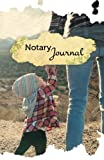 """Notary Journal: 50 Pages, 5.5"""" x 8.5"""" Motherly Love"""