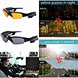 YIGEYI Multi-Function Motorcycle Sunglasses with Bluetooth Headset Talk Headphone Sun Glasses Micphone The Perfect one for You (Color : Grey)