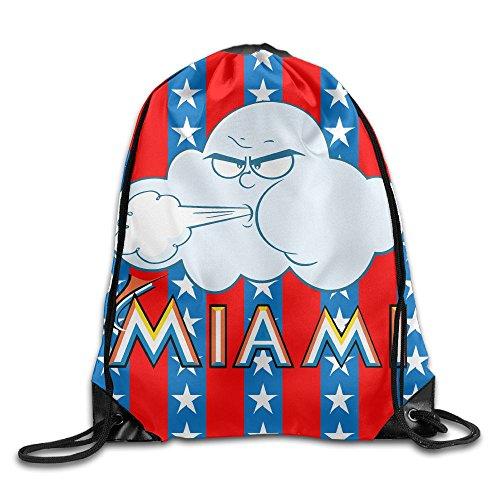 Miami Couples Rucksack Shoulder Bags For Girls Boys Gym (Miami Vice Halloween)