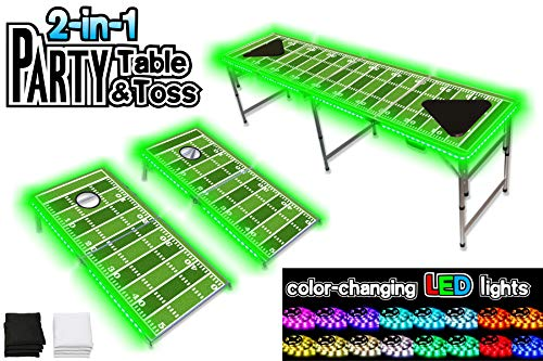 Beer Pong Table With Led Lights in US - 4