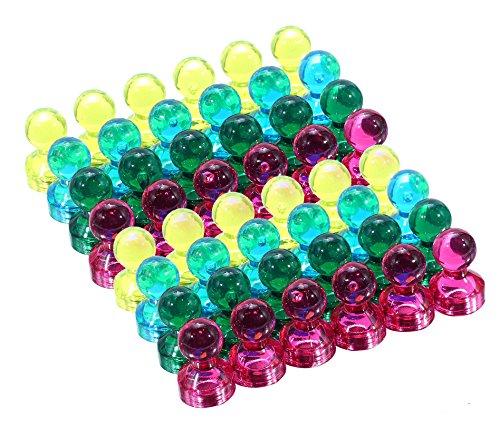Quartet Magnetic Push Pins - 7
