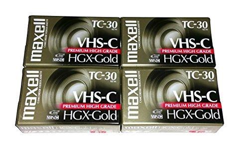 Maxell VHS-C TC-30 HGX Gold Bl