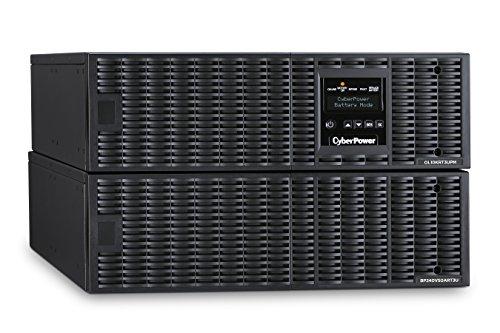 CyberPower OL10000RT3U Smart App Online UPS System, 10000VA/9000W, 4 Outlets, 6U Rack/Tower -
