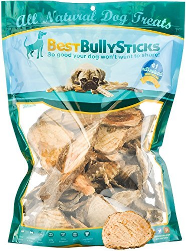 100% Natural, Premium Yam Treats for Dogs: 16oz. Bag of GMO-Free, Vitamin-Packed Veggie Chews with No Preservatives or Chemicals. A Tasty, Low-Calorie Snack That Helps Keep Dogs' Teeth Clean, Too