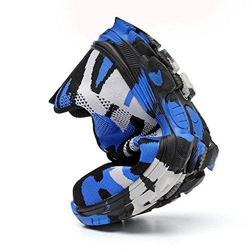 Camouflage Toe Footwear Shoes Industrial Puncture Construction Blue Mens Safety Work Steel TRUPO Proof xgwqfPv0x
