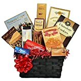 Classic Gourmet Gift Basket with Lindt Chocolate