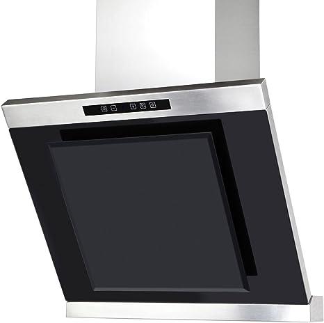 Termikel pared Campana Basel Vertical Cristal, 60 cm de ancho, cristal negro: Amazon.es: Grandes electrodomésticos