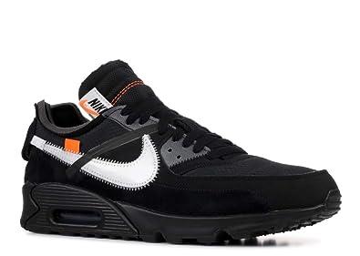 new product 12a6c ca420 Nike Air Max 90 x Off White - Black Black-Cone-White Trainer