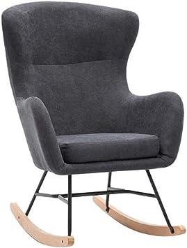 YQQ-Lazy - Silla de Respaldo Alto para Oficina, Mecedora, sillón ...