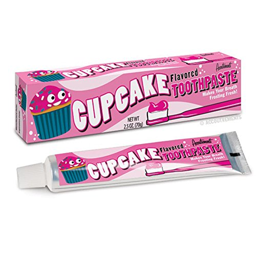 Cupcake Frosting Flavored Novelty Toothpaste
