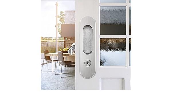 Cerradura De Puerta Corredera Invisible Cerraduras De Puerta ...