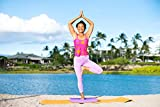 """Clever Yoga X-Large Balance Pad 19.75""""x15.75""""x2.5""""- Comes with Our Special Namaste"""