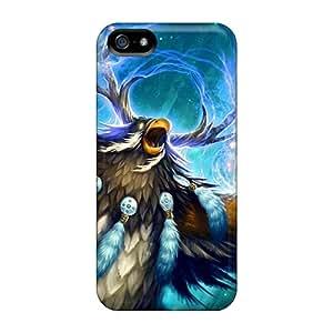 Iphone 5/5s WaR141FUgL Custom High Resolution World Of Warcraft Image Shock-Absorbing Hard Phone Covers -IanJoeyPatricia