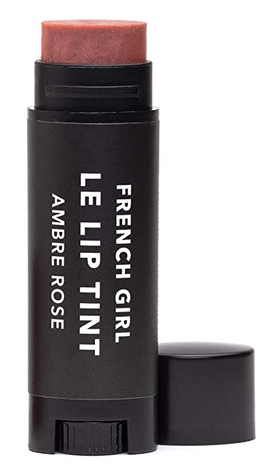 The French Girl Organics - Lip Tint (Ambre Rose) travel product recommended by Adina Mahalli on Pretty Progressive.