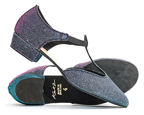 Ladies Jive Glitter Cerco Colours By Multi All Ballroom Shoe Teaching Greek Sandal Girls Dancewear Dance Leather Glitter Katz Salsa gqwPX55