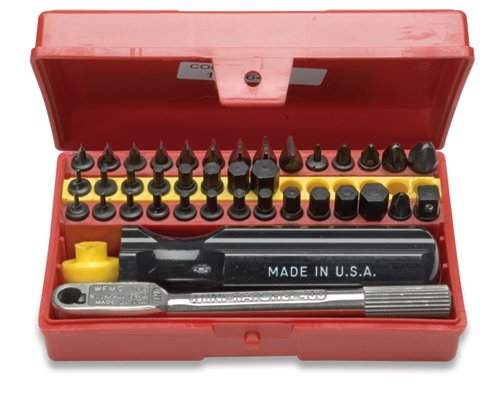 Wadsworth Deluxe Mini Ratchet & Screwdriver Set 3 44-Piece by Wadsworth