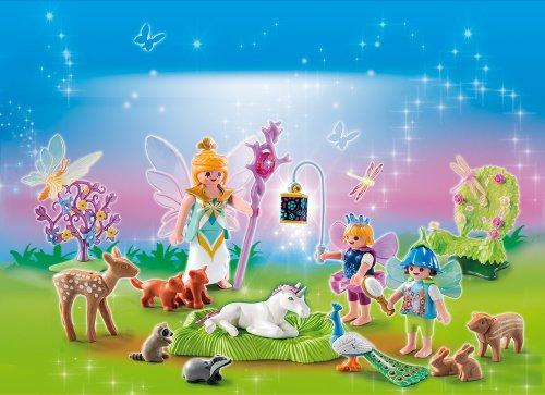 PLAYMOBIL 5492 - Adventskalender, Einhorngeburtstag im Feenland