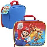 """Super Mario Bros Nintendo Lunch Bag , 3"""""""