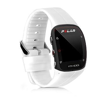 kwmobile Pulsera para Polar M400 / M430 - Brazalete de [Silicona] en [Blanco] sin Fitness Tracker
